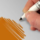 RD Food art Pen - Bright Gold thumbnail