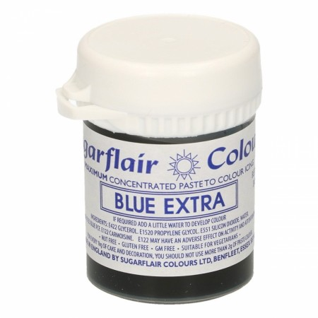 Sugarflair  Max Concentrate  Pastafarge - Blue Extra 42g