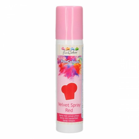 FC FunColours Velvet  Spray- Red 100ml