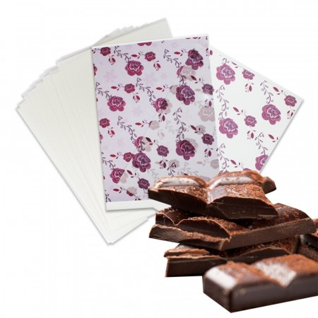 Chocolate Transfer Sheet 25 stk