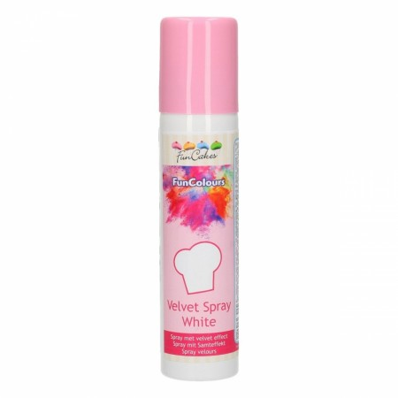 FC FunColours Velvet  Spray- White 100ml