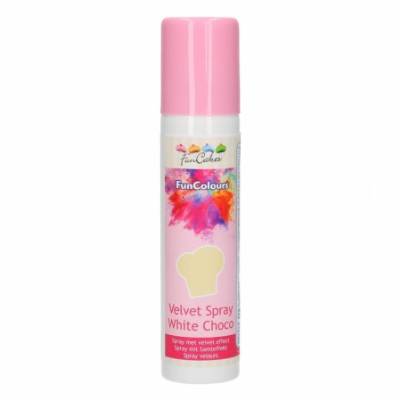 FC FunColours Velvet  Spray- White Chocolade 100ml