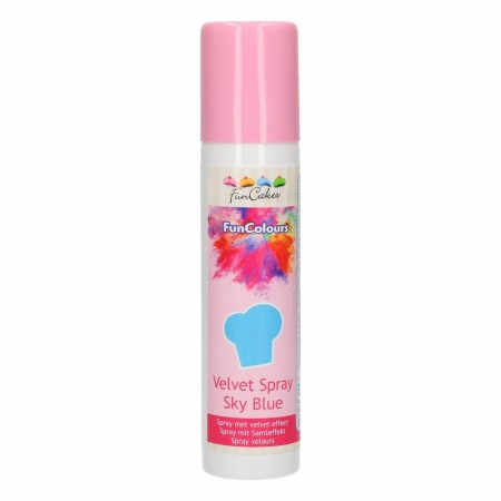 FC FunColours Velvet  Spray- Sky Blue 100ml