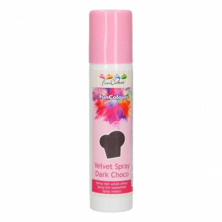 FC FunColours Velvet  Spray- Dark Chocolade 100ml