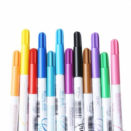 Fractal fargepenner